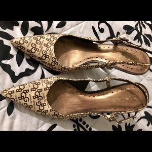 BCBG pointed toe heels